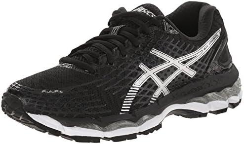 precios de liquidación online aquí estilo de moda ASICS Women's Gel-nimbus 17 Running Shoe, Black/Silver/Onyx, 7 M ...