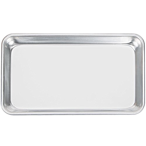 Happypinto Aluminum Mini Sheet Pans/Bun Pans, 1/8 Eighth size 6