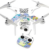 Skin For DJI Phantom 3 Standard – Eat Sleep Shoot | MightySkins Protective, Durable, and Unique Vinyl Decal wrap cover | Easy To Apply, Remove, and Change Styles | Made in the USA