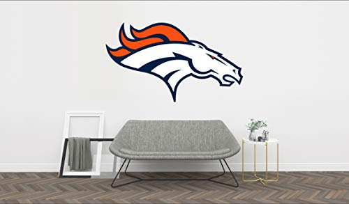 Ottosdecal American Football Team Wall Decal Vinyl Sticker for Home Interior Decoration Bedroom, Laptop, Window, Mirror, Car (17