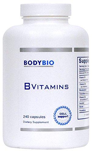 BodyBio - B Vitamins, 240 Capsules by BodyBio