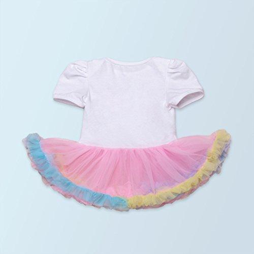 Avec Bébé Des Robe Fascigirl Bande Imprimé Mignon Barboteuse Multicolor L De Type Et Tutu Chaussures 1 Cheveux 5qYgg04f