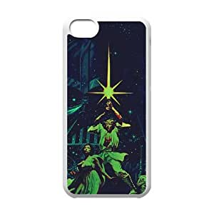 star wars poster iPhone 5c Cell Phone Case White Present pp001-9449339