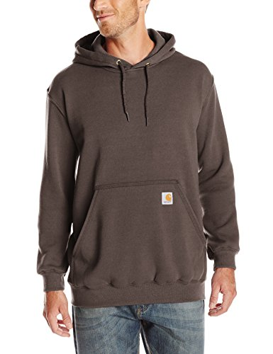 - Carhartt Men's Midweight Hooded Sweatshirt,Dark Brown,Large