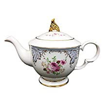 Hampstead Collection Porcelain Roses Teapot 1000mL (8 Cups)