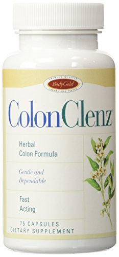 Bodygold Dietary Supplement Colon Clenz 75 ct by ColonClenz