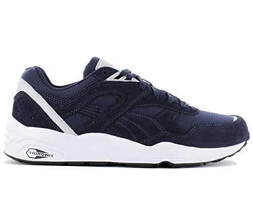 Pumas Principaux Hommes Bleus R698 Chaussures D'espadrilles Nouvelles Trinomic