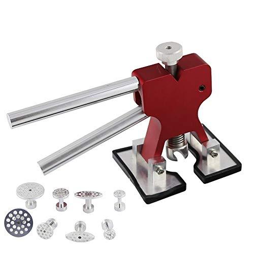 PDR Dent Lifter Glue Puller Hand Lifter with 8 Pieces Aluminum Glue Puller Tabs - PDR Tool-Dent Repair ferramentas manuais