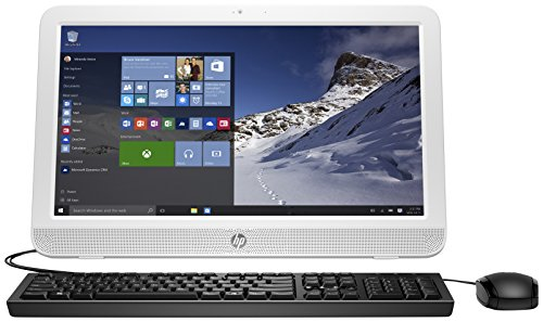 """HP 19.45"""" All-in-One Intel Celeron 4GB Memory 500GB Hard Drive Blizzard White 20-e014"""