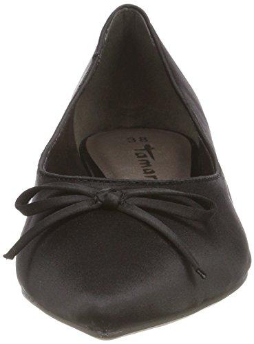 Ballerines 001 Noir Femme 22208 black Tamaris 1w4HOO