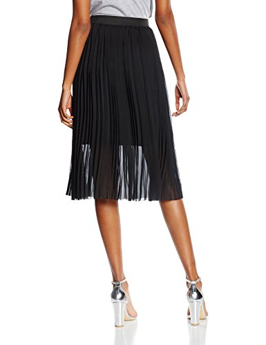 New Look Pleated Sport, Falda para Mujer negro