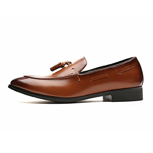 Oxford Business uomo da 2018 uomo shoes Hongjun da British Scarpe Style nappa casual The Ax0qw8WFg