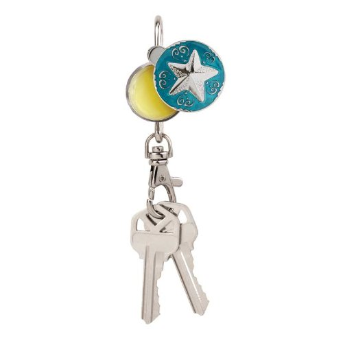 Alexx Finders Keep Hers Starry Sea Key Finder with Lip Ba...