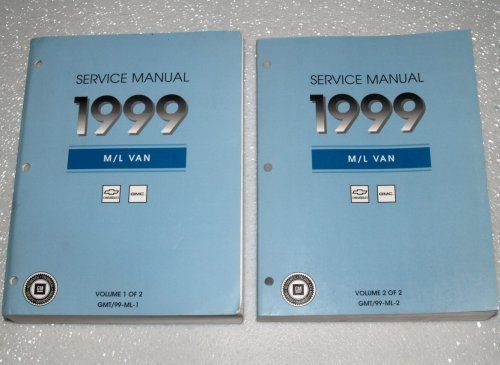 1999 GM M/L Van Factory Service Manuals (Chevrolet Astro Van, GMC Safari Van, 2 Volume Set)