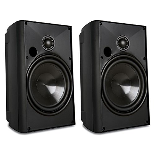 Proficient Audio Systems AW650Blk/PAS41653 6.5-Inch Indoor/Outdoor Speakers (Black) (Discontinued by Manufacturer) by Proficient