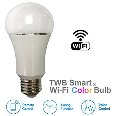 Wi-Fi Smart Bulb, Works with Amazon Echo Alexa, No Hub Required