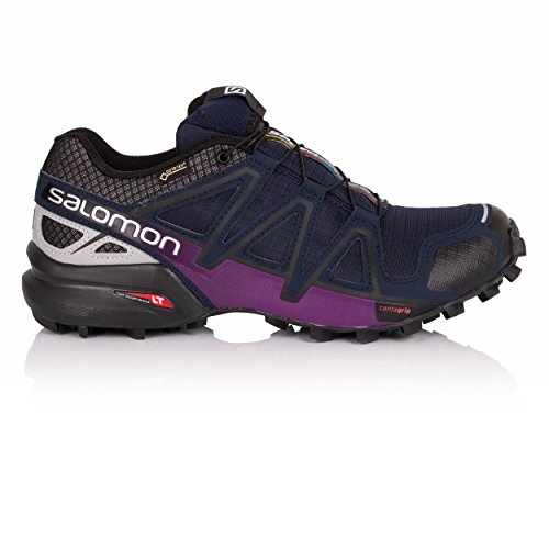 GTX de W 4 Femme Nocturne Salomon Navy Chaussures Blue Speedcross Trail CwtFqnO6
