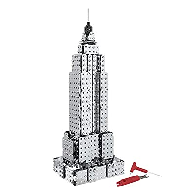 Dilwe Giocattolo 3d Puzzle Torre Eiffel E Lempire State Building Puzzle In Metallo 3dempire State Building