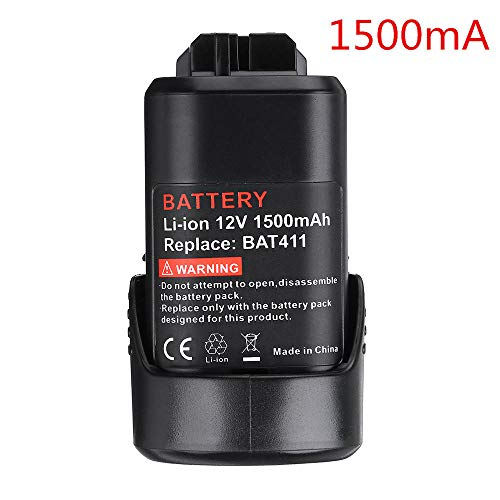 Power Tools Battery 12V 1500mAh / 2000mAh Li-ion Rechargeable Battery Replacement For Bosch BAT411