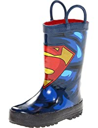 Western Chief Superman Forever Rain Boot (Toddler/Little Kid/Big Kid),Blue,12 M US Little Kid