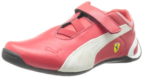 PUMA Future Cat M2 Ferrari V Tennis Shoe (Toddler/Little Kid/Big Kid),Rossa Corsa/White,5 M US - Ferrari Future Cat