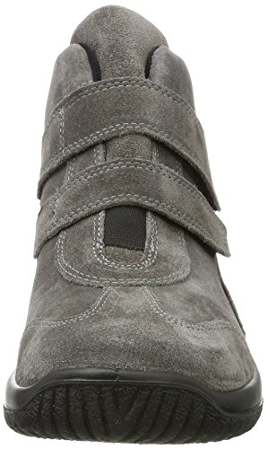 Legero Softboot Halb, Sneaker a Collo Alto Donna Grigio (Ematite 88)