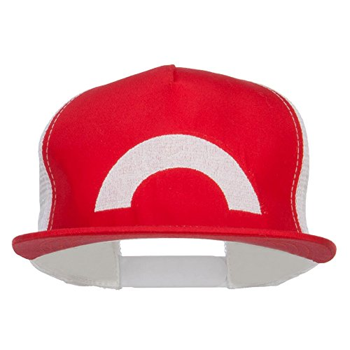 Ash Ketchum XY Series Embroidered Cap - Red