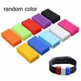 Idealhere Silicone Security Keeper Ring Loop Fasteners Ring For Fitbit Charge/Fitbit Charge HR 10pcs