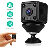 Mini Spy Hidden Camera with 32G TF Card 1080P HD Nanny Cam with Night Vision and Motion Detective, Indoor Covert Security Camera Video Recorder Real-Time View for Your Home, Car and Office