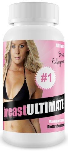 breastULTIMATE pilules d'agrandissement du sein - All Natural Valeur des Femmes Formula - Augmenter 2+ Tailles Coupe!