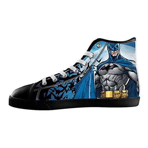 7215332f0edc2 Custom Men Batman Canvas Shoes High Top Sneakers on sale ...