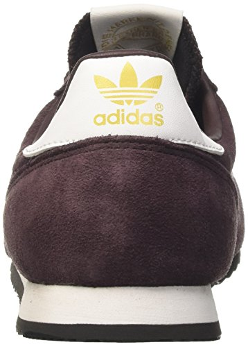 adidas Dragon, Zapatillas de Deporte Unisex Adulto Rojo (Rojnoc / Ftwbla / Negbas)