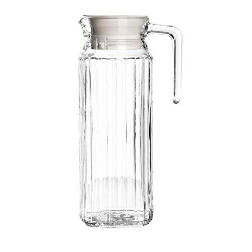 Get Goods Juego de 2 jarras Grandes de 1 litro con Tapa, para ...