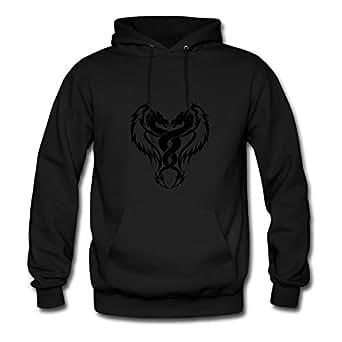 Dragon Mabelbennett Sweatshirts Printed Women Chic Black