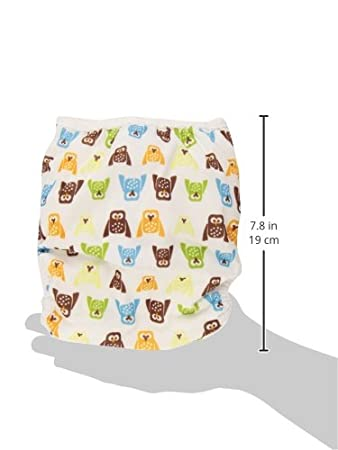 Thirsties One Size Pocket Diaper Snap, Fin TPDSF