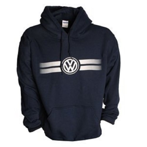 Genuine Volkswagen Game Day Hoodie -Navy- Size Medium