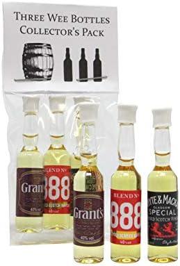 Multiple Distillery Packs - Worlds Smallest Bottle of Whisky (pack ...