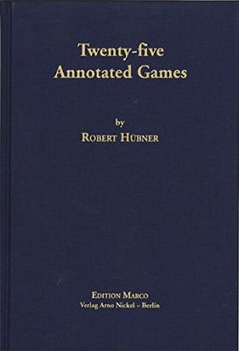 Twenty-five Annotated Games