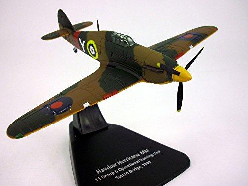 Hawker Hurricane Mk.I 1/72 Scale Diecast Metal Model (Vought F4u Corsair Aircraft Wwii)