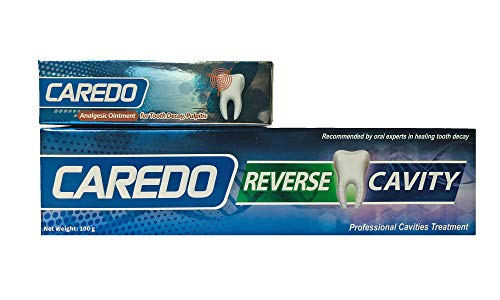 CAREDO Analgesic Ointment for Tooth Decay Pulpitis Toothpaste Treatment Dental Caries for Adult, The ONLY Toothpastes to Cure Tooth Decay, Repairing Tooth Cavities