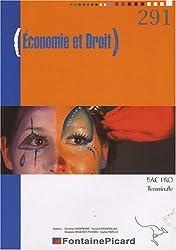 Economie et Droit Bac Pro Tle