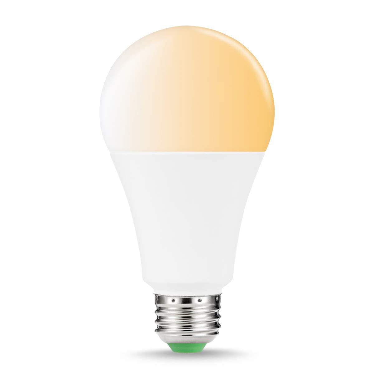 14W 110W Equivalent LED Light Bulb EXTSUD WiFi Smart Bulb B22 Warm White to