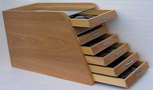 Knife Storage/Display Case Holder Tool Storage Cabinet, with drawers by DisplayGifts
