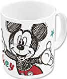 Disney, 78117, Mickey Mouse, Mickey Mouse Ceramic Mug Dishwasher and Microwave Safe.