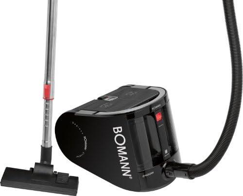 Bomann BS 963 CB - Aspiradora (2400 W, Aspiradora cilíndrica, 2,5 L, Negro, Metal, HEPA): Amazon.es: Hogar
