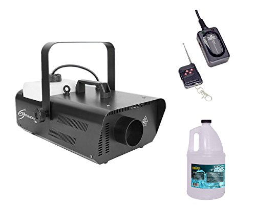 CHAUVET DJ H1302 Hurricane 1302 Fog Machine with Fluid Gallon, Wireless Remote by CHAUVET DJ