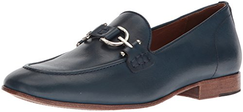 Donald J Pliner Men's Moritz Loafer, Navy, 10 Medium US by Donald J Pliner