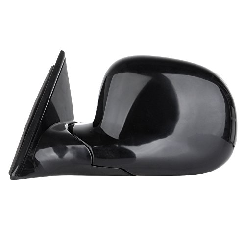 SCITOO Left+Right Manual Foldable Black Side View Mirrors fit 94-98 Chevy Blazer S10 94-98 GMC Jimmy S-15 Sonoma 96-98 Isuzu Hombre 96-98 Olds Bravada Pair