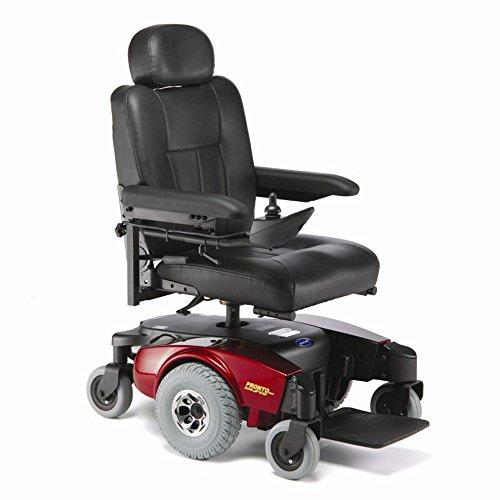 Invacare - Pronto M51 - Semi-Recline Power Wheelchair - 18