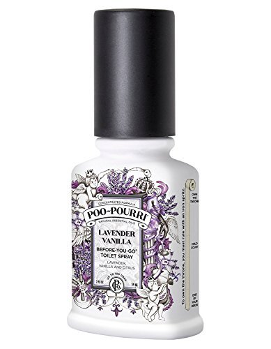 Poo Pourri Preventive Bathroom Odor Spray 2 Piece Set Includes 2 Ounce And 4 Ounce Bottle